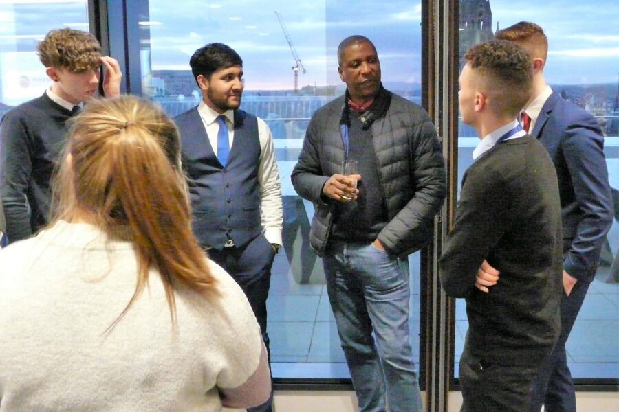 2018-03-19 - Viv Anderson and group